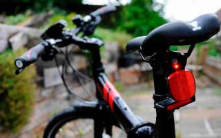 Как установить катафоты на велосипед