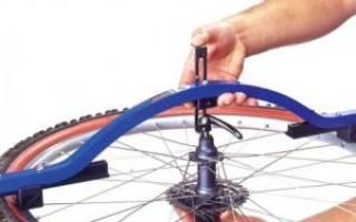 Как подтянуть спицы на велосипеде