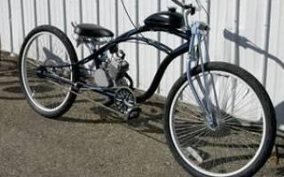Какой двигатель можно поставить на велосипед