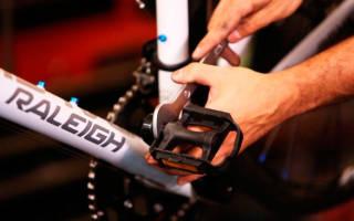 Как выкрутить педаль с велосипеда